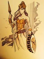 Athena by BenNewton