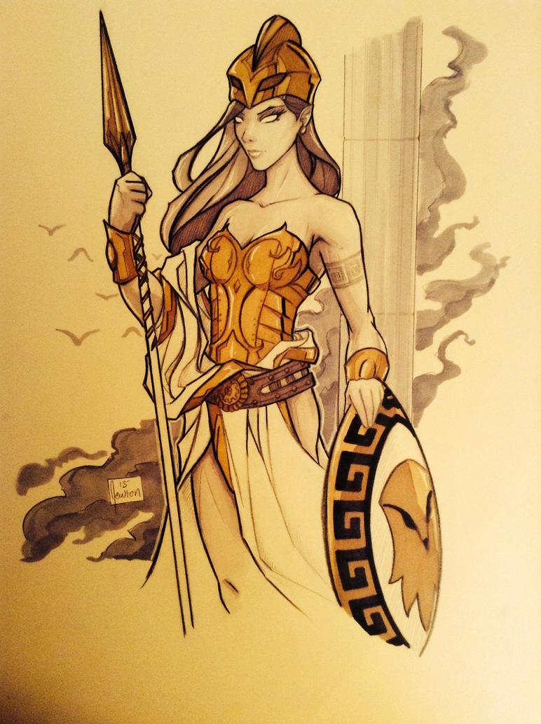 Athena by BenNewton on DeviantArt