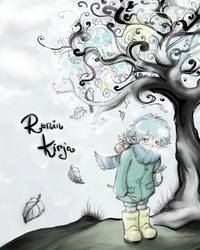 The Cover of Ren's Book