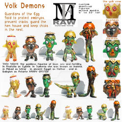 Yolk-Demons series