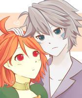 Gig and Revya~ by karothami