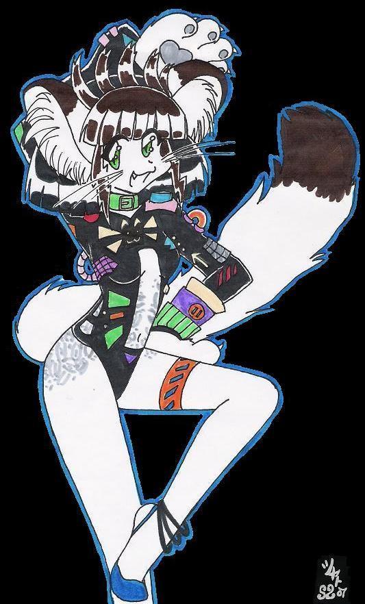 Catgirl by Kisaki-Shattoriboshi