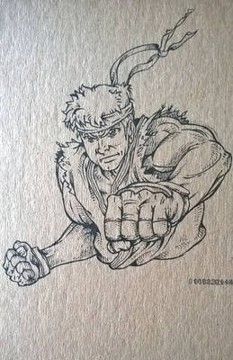 Ryu from Street Fighter