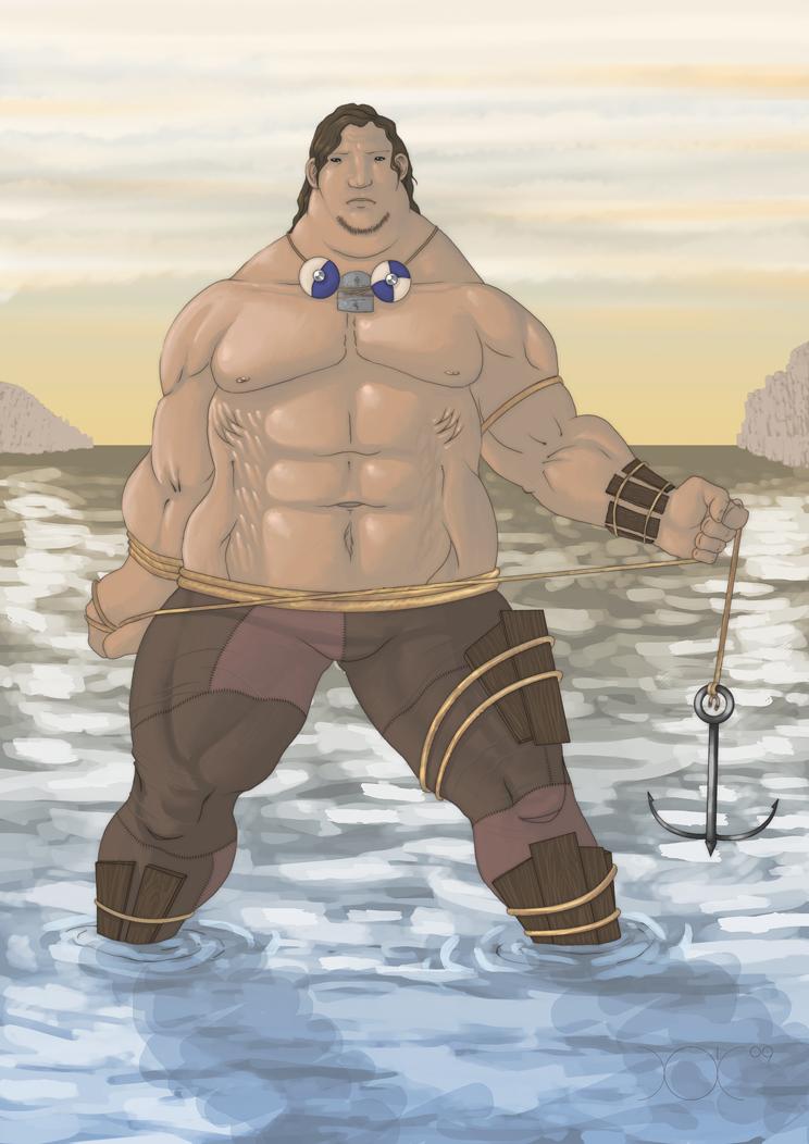 Sea Giant by Mo-ninja