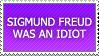 SIGMUND FREUD by propertyofkat