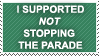 NOT STOPTHEPARADE by propertyofkat