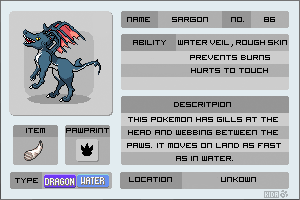 Shargon - Fakemon by lilly-gerbil