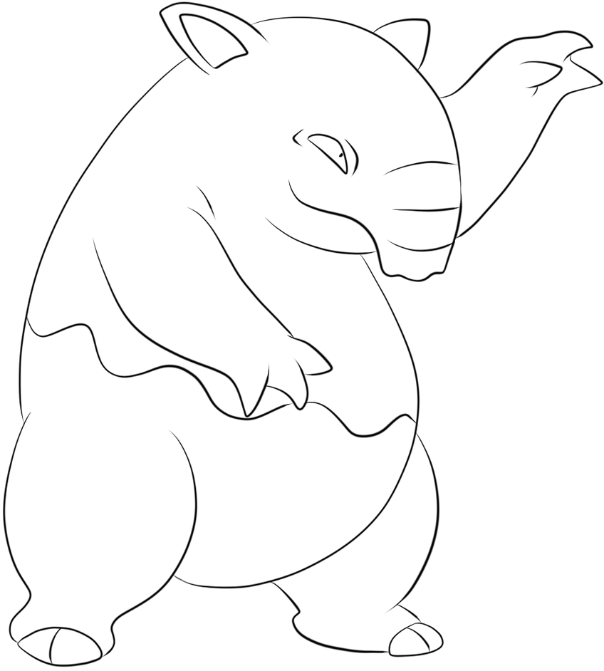 Uncategorized Gerbil Coloring Pages image gallery of gerbil coloring page