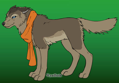 Shana [own wolf character]