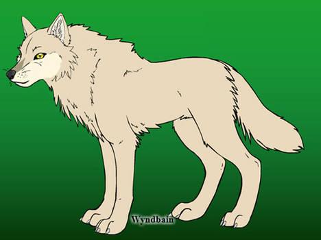 Akai [own wolf character]