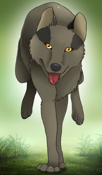 Nea [own wolf character]