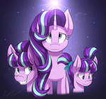 The Evolution Of Starlight Glimmer (Redraw)