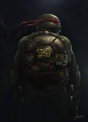 Teenage Mutant Ninja Turtle by kevintolibao
