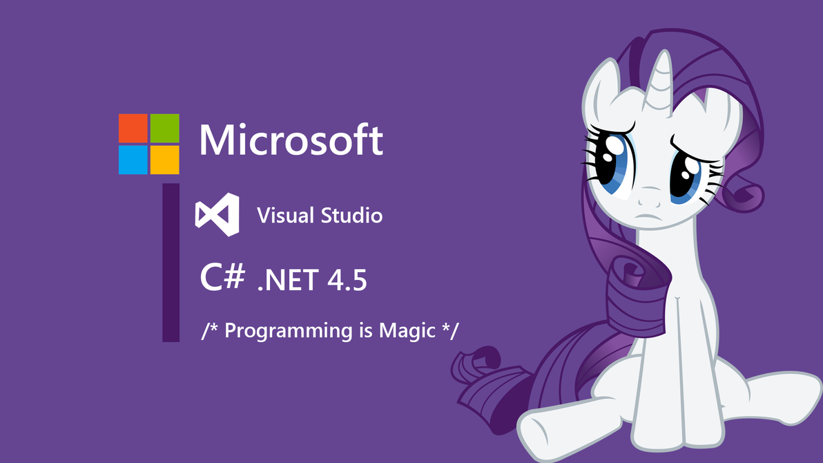 Rarity Windows Developer Wallpaper By JanmanX