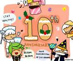 Cookie Run 10th Birthday by Sherrott