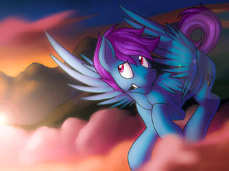 A Bit Above The Clouds by Lattynskit