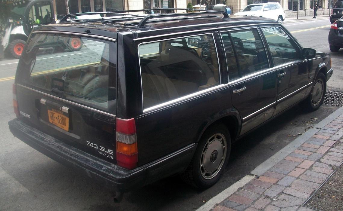 1990  Volvo 740 Gle Wagon By Auroraterra On Deviantart