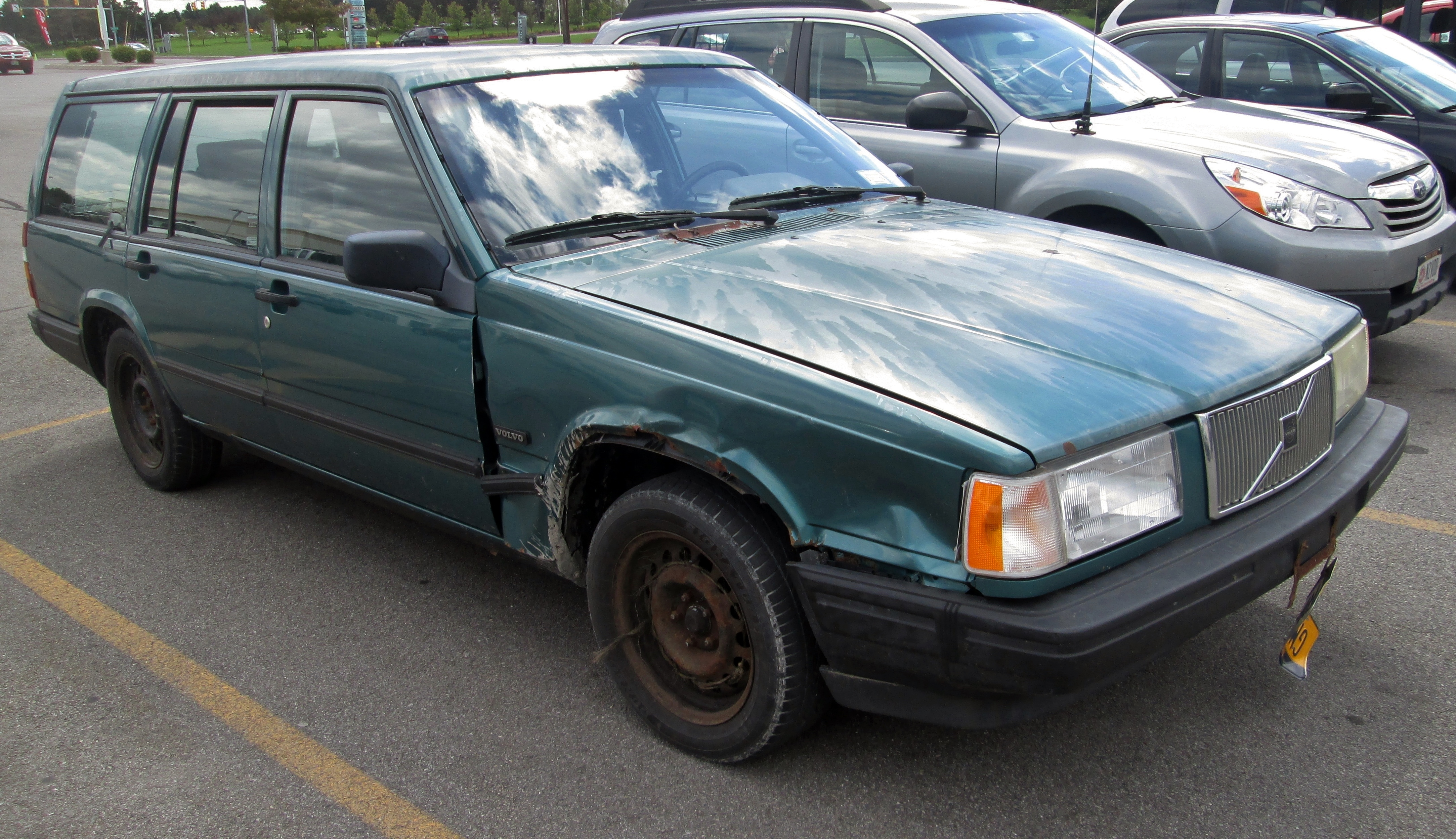 1991 Volvo 740 Wagon Beater By