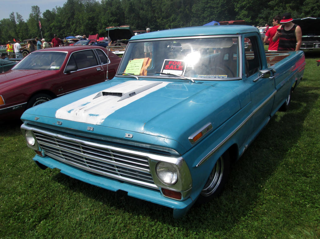1969 Ford F 100 Stepside By Auroraterra On Deviantart F100 Short Bed