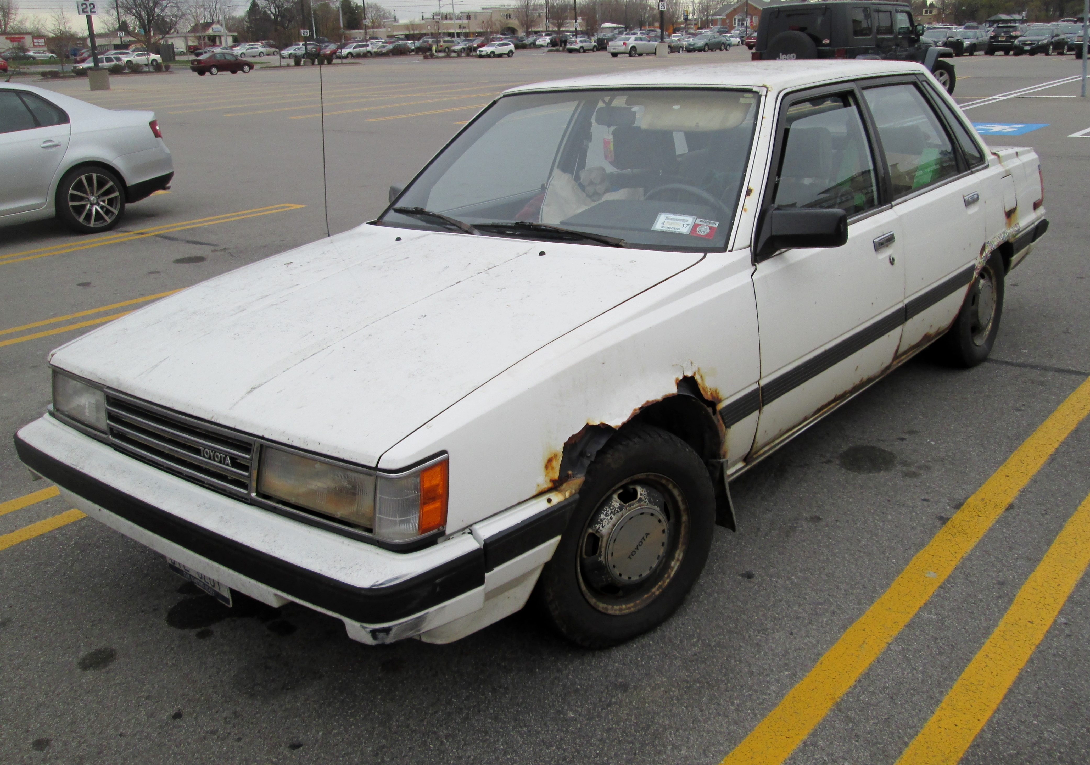 1984 toyota camry beater by auroraterra
