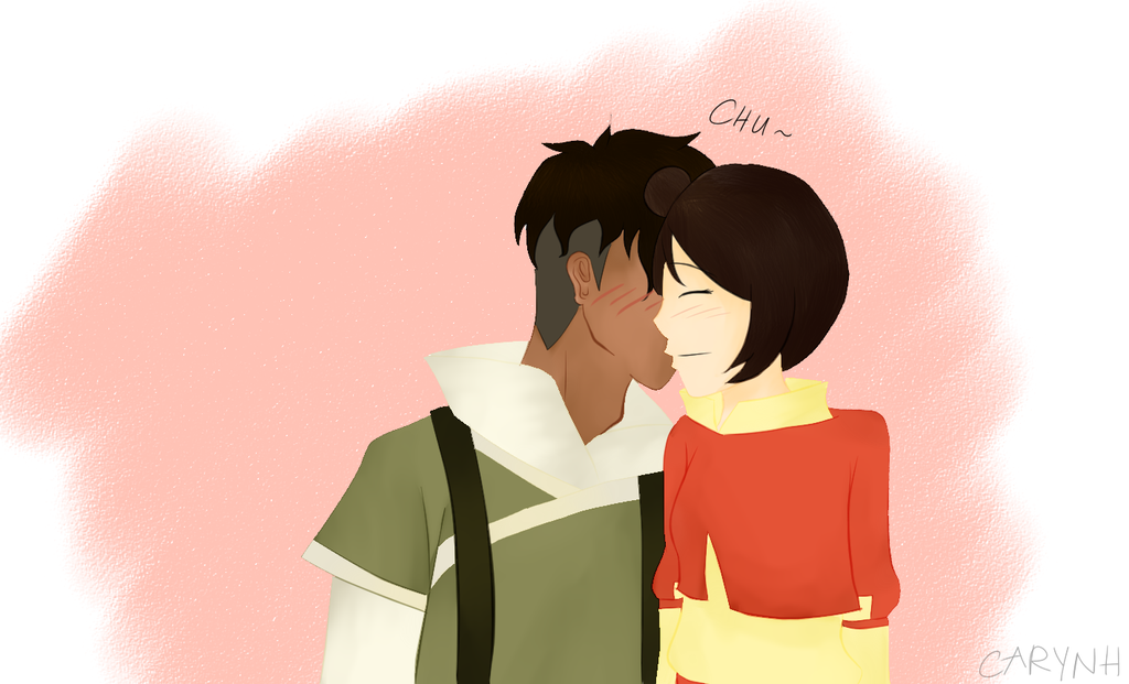 Kai and Jinora by Caryn-Hau