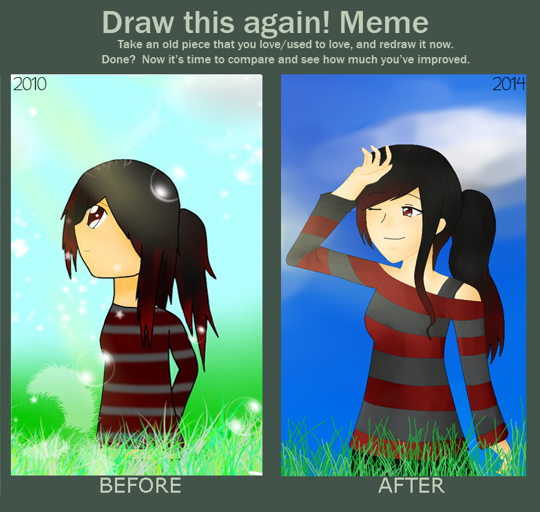 Draw This Again Meme by Caryn-Hau