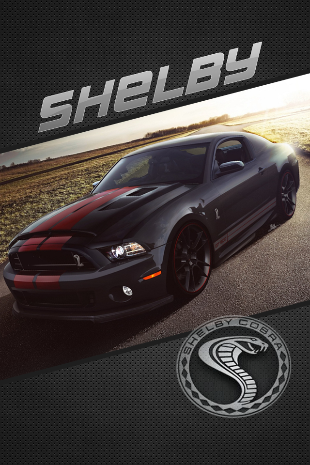 Ford Mustang Shelby GT500 Iphone 4 Wallpaper by DySands on ...