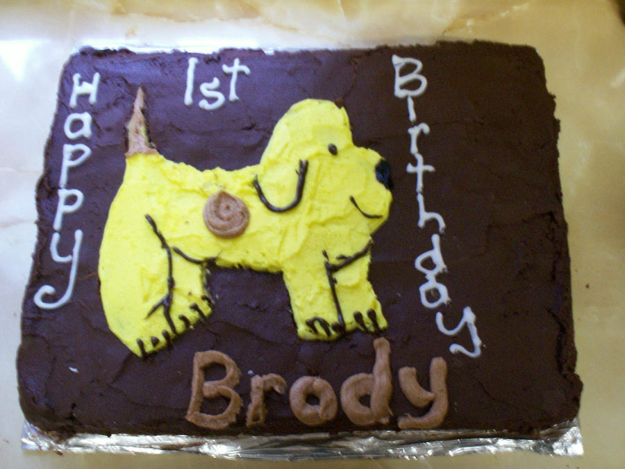 How To Make Spot The Dog Cake