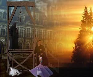 ' Place de Greve.Esmeralda's execution ' by Blackmoons32