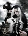 Black rose of grief