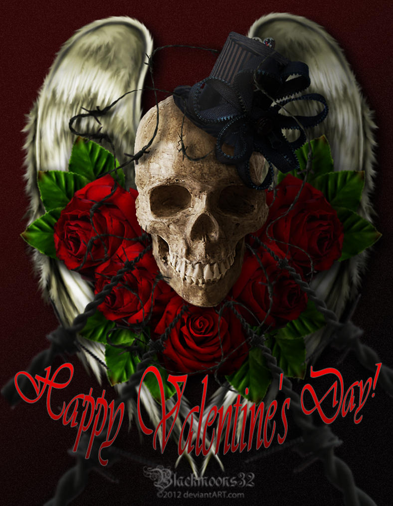 Valentine Card by Blackmoons32
