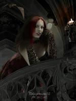 Vampire girl by Blackmoons32