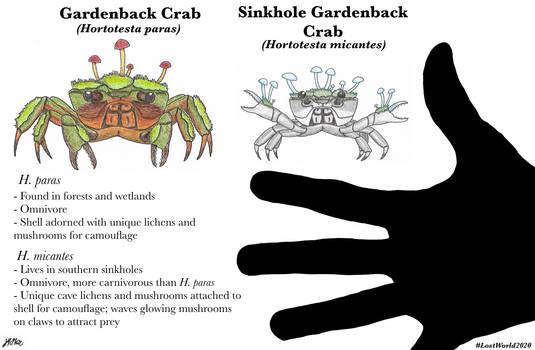 Gardenback Crabs (Lost World Spec Challenge)