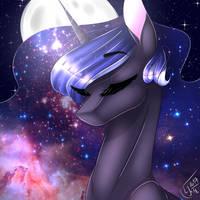Galaxy Luna by amai-aji