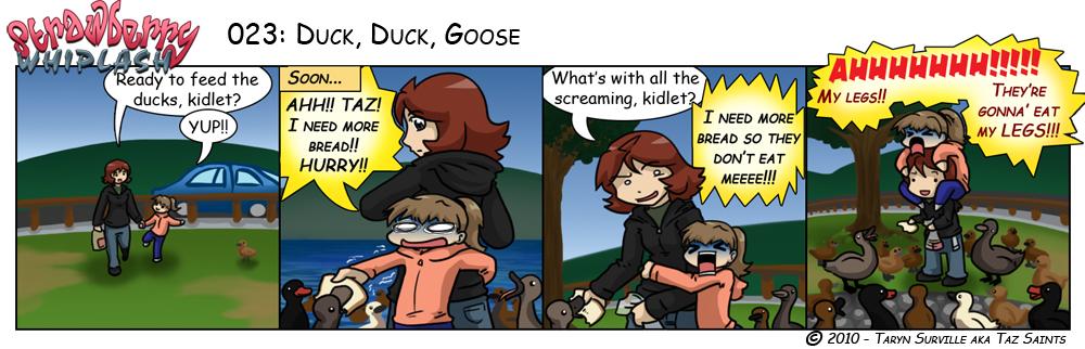 SW: Duck, Duck, Goose by tazsaints