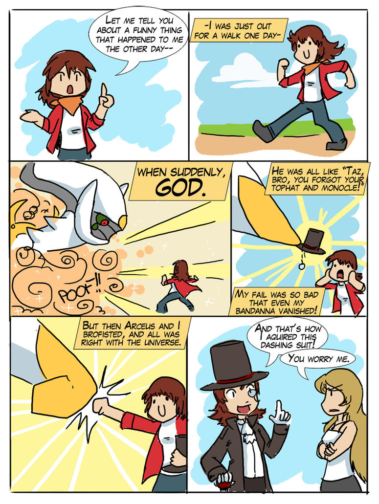 Of Speech Bubbles And GOD by tazsaints