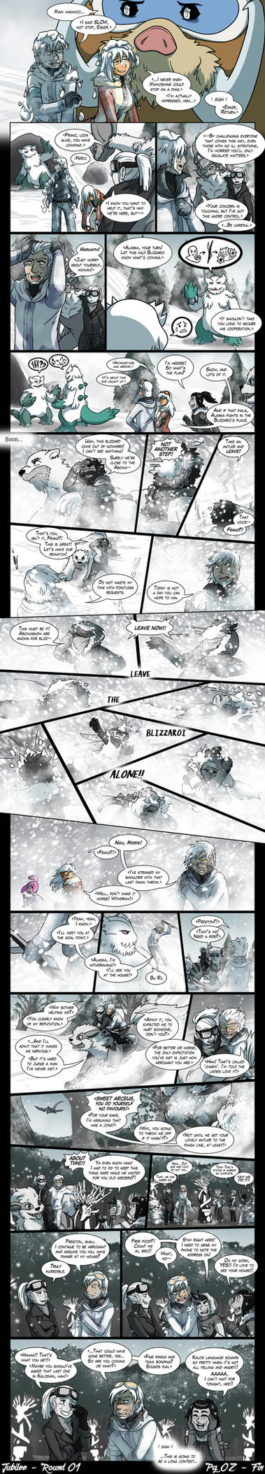 Jubilee R1 - Snow Good Deed - Pg2 by tazsaints