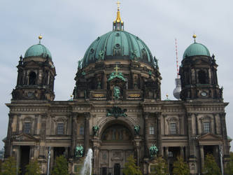 German Cathedral (I don't remember the name) by MisterAwesomeness