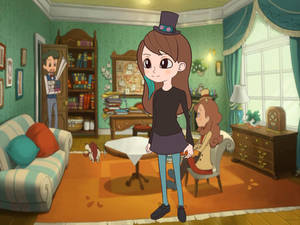 Me in Layton style