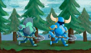Shovel Knight - Fanart