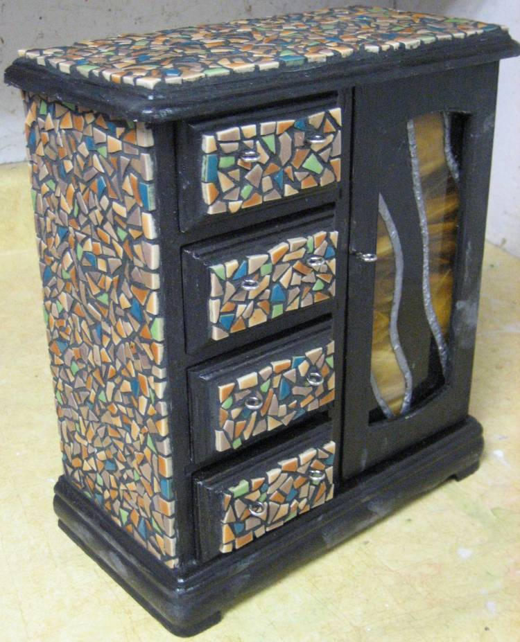 Mosaic Jewelry Box by EclecticSarcasm on DeviantArt