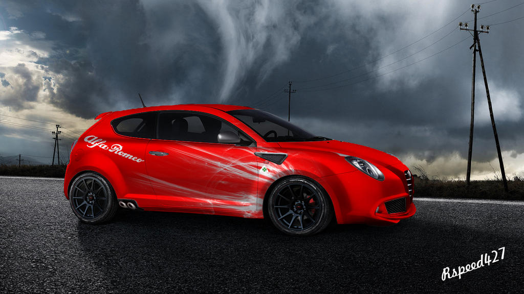 alfa romeo mito modifiedrspeed427 on deviantart