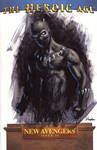 Black Panther sketch cover