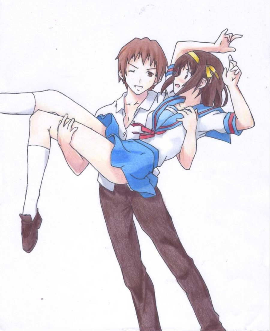 haruhi and kyon relationship goals