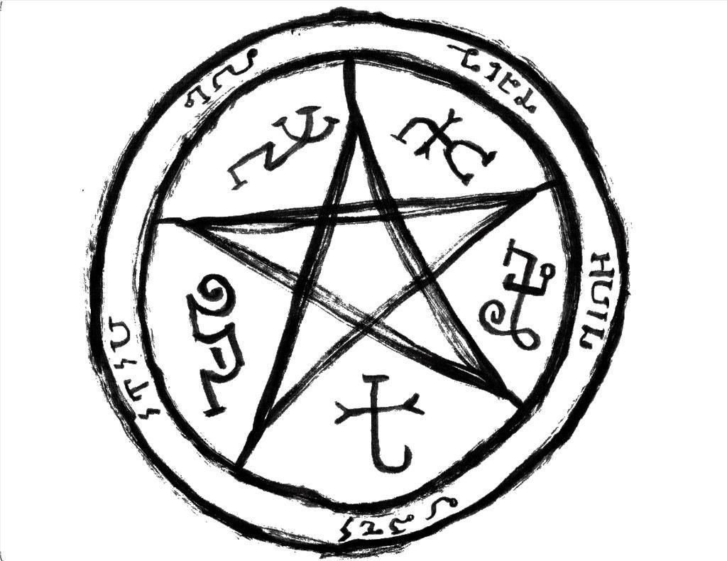 Devils Trap by Pandora-Gold
