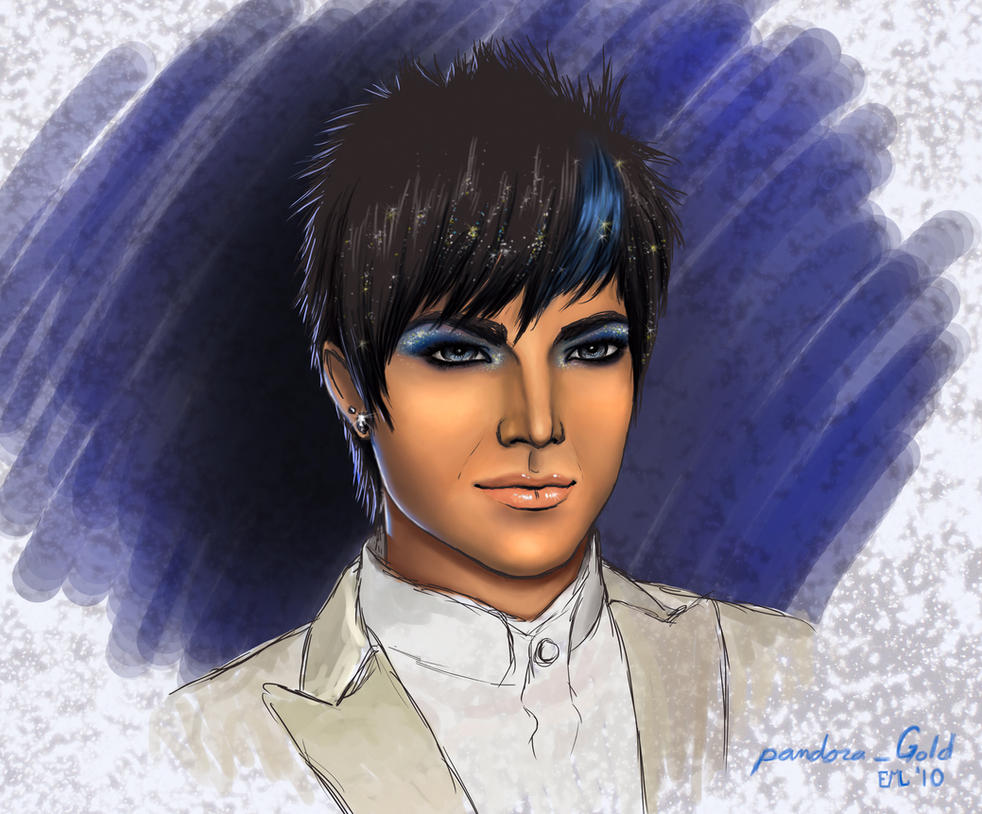 Blue Glitter by Pandora-Gold