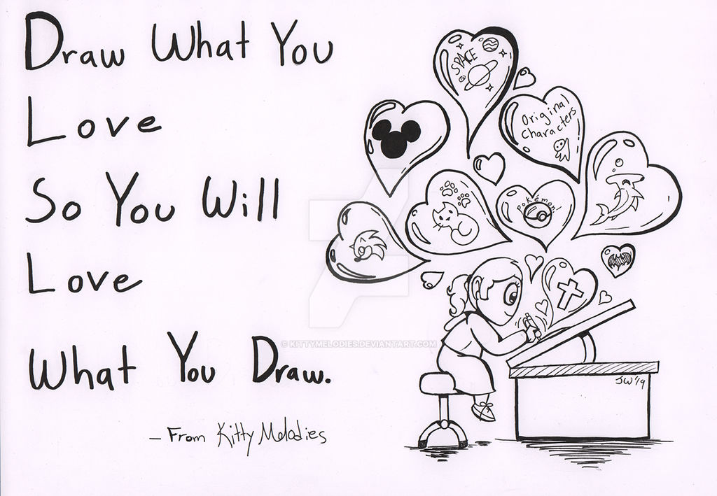 Drawing What You Love