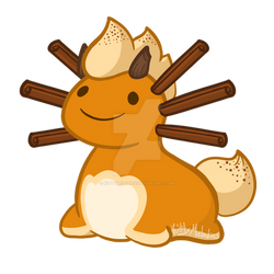 Seasonal Axolug - Pumpkin Spice