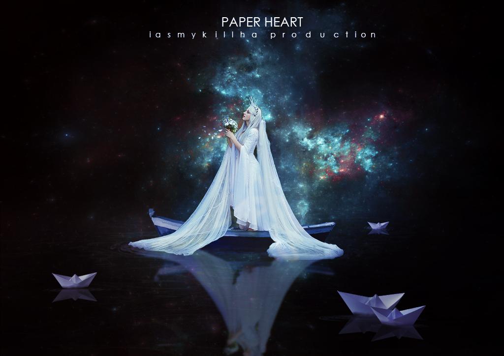 Paper Heart by IasmyKillha