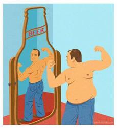The false perception of consumming alcohol.  by misscarol7813